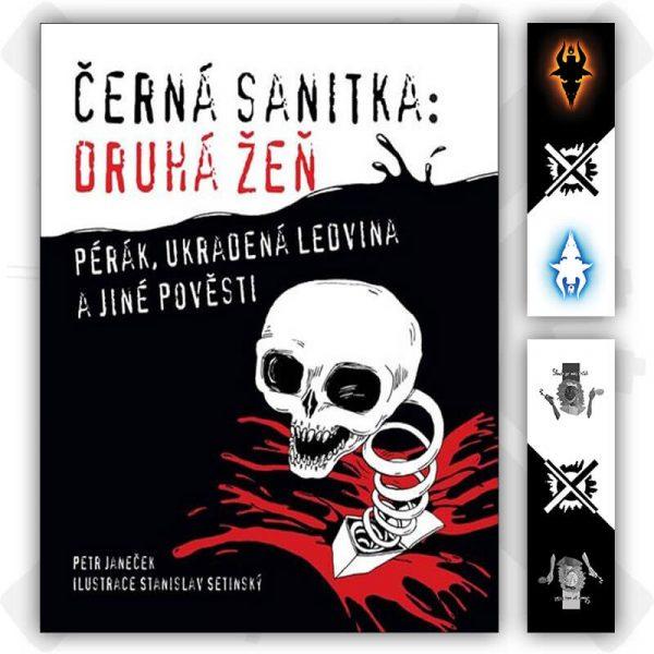 černá sanitka druhá žeň kniha petr janeček záložka zdarma