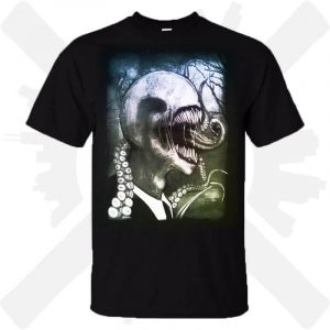 triko slenderman creepy potisk creepyshop