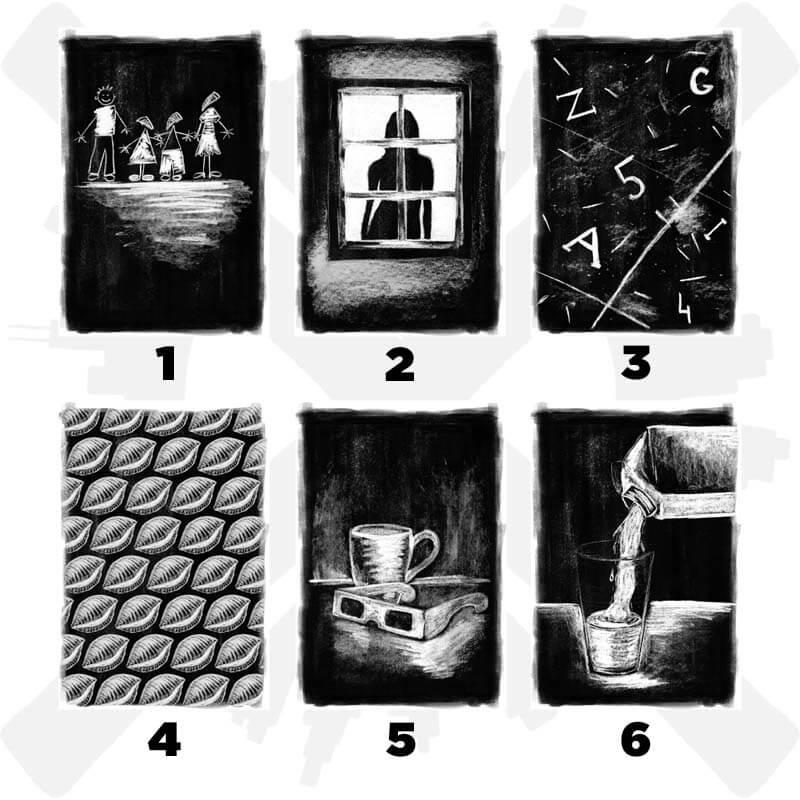 13 děsivých těstovin druhý chod pohlednice
