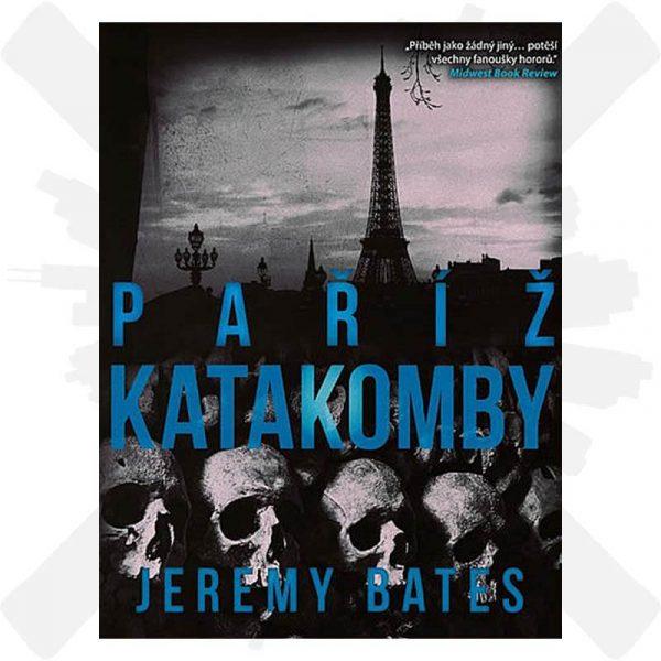 Katakomby Paříž jeremy bates creepyshop