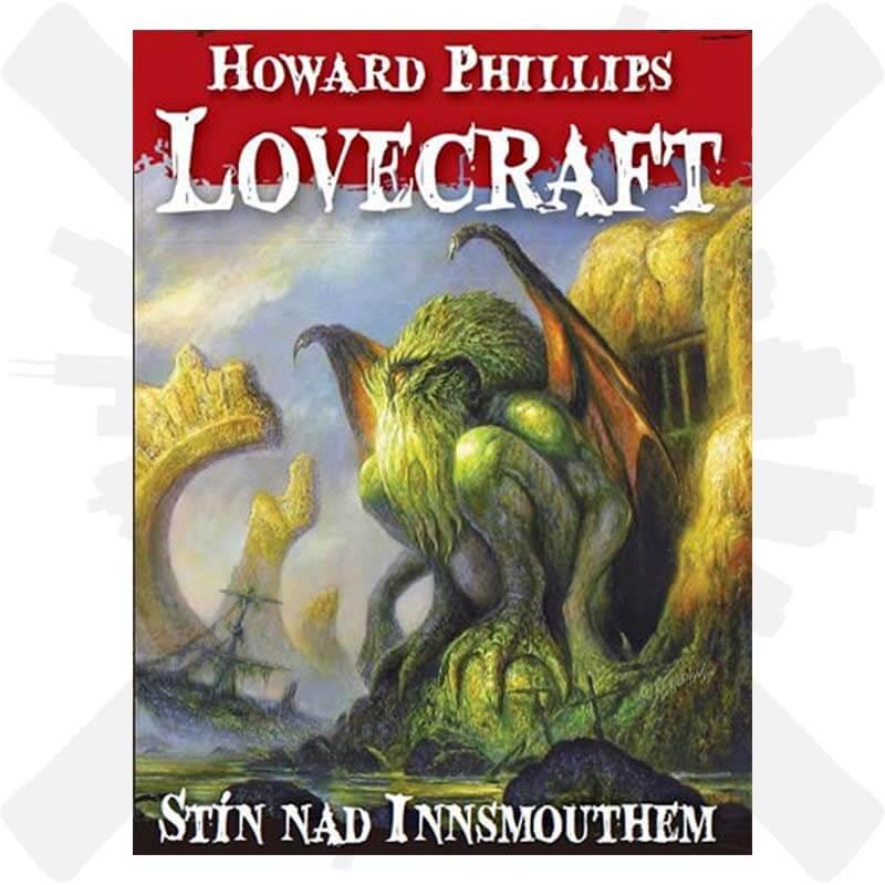 Stín nad Innsmouthem lovecraft creepyshop