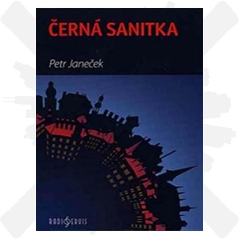 Černá sanitka mp3 audio kniha Petr Janeček