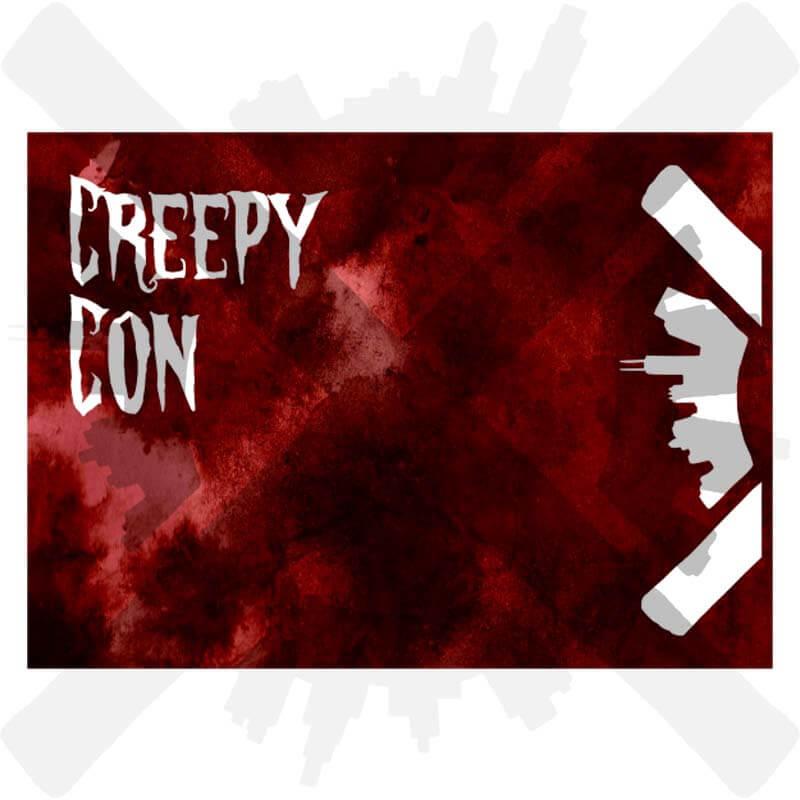 creepycon pohlednice creepyshop