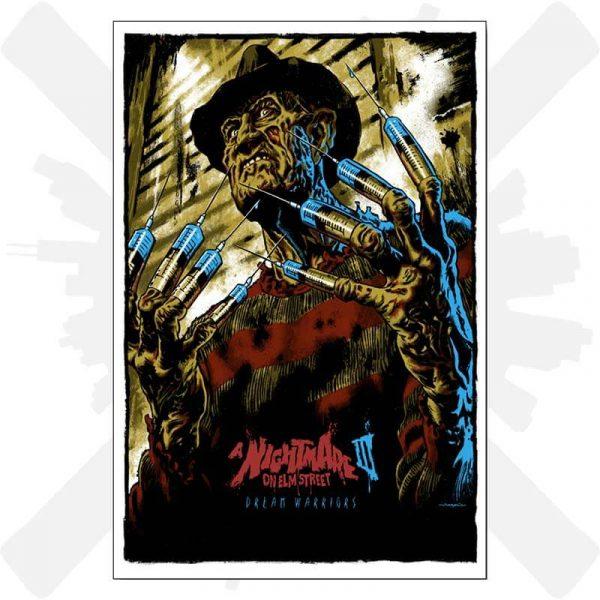 freddy krueger poster plakat horor creepyshop