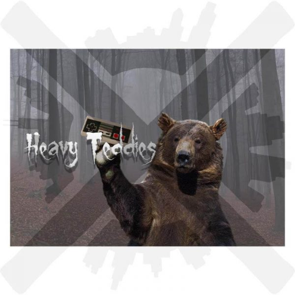 heavy teddies preza marek veverka pohlednice creepyshop