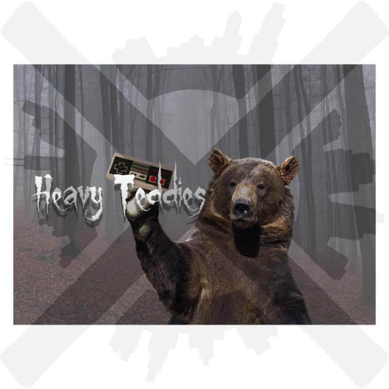 heavy teddies préza marek veverka pohlednice creepyshop