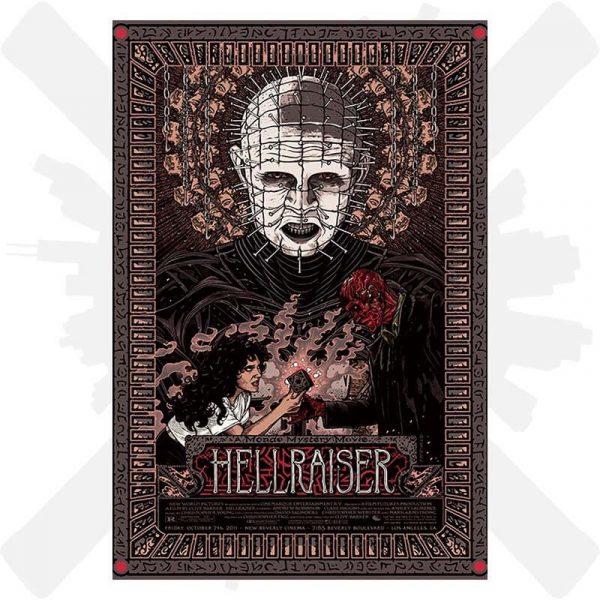hellraiser horor plakat film creepyshop