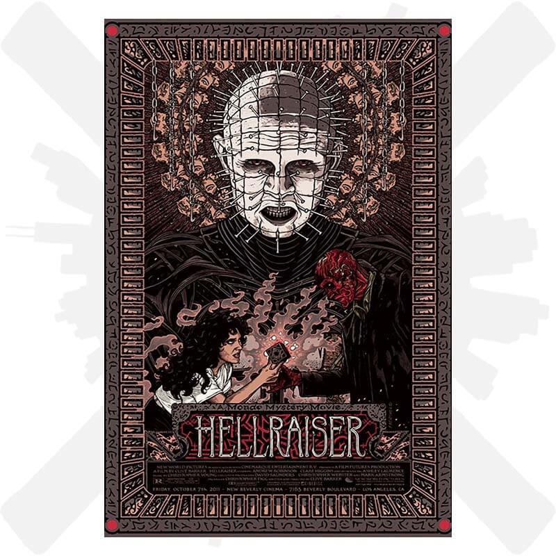 hellraiser horor plakát film creepyshop