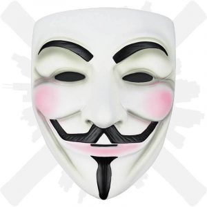 maska anonymout guy fawkes
