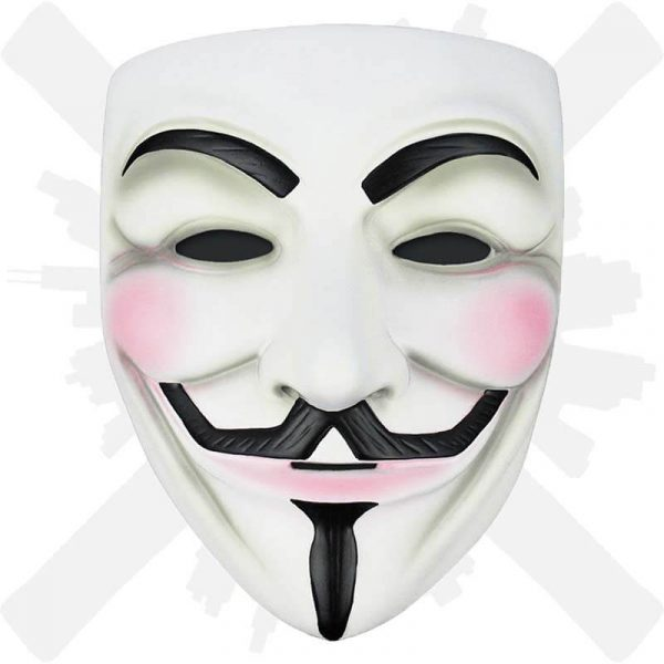 maska anonymout guy fawkes