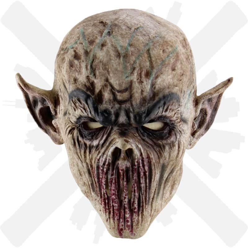 maska démon děsivá latexová creepyshop