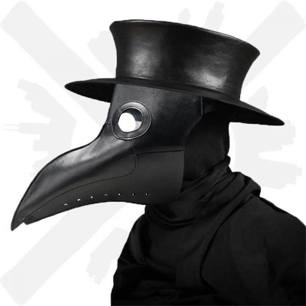 maska morový doktro plague doctor mask creepyshop