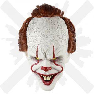 maska penywise z filmu to šašek creepyshop