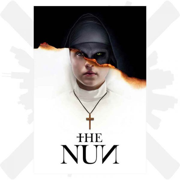 sestra the nun horor plakat creepyshop