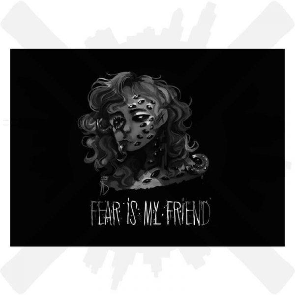 wizzory fear is my friend pohlednice creepyshop