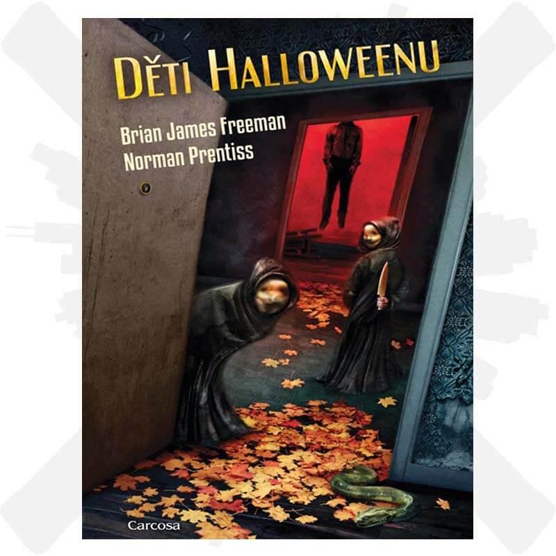 deti halloweenu creepyshop kniha carcosa
