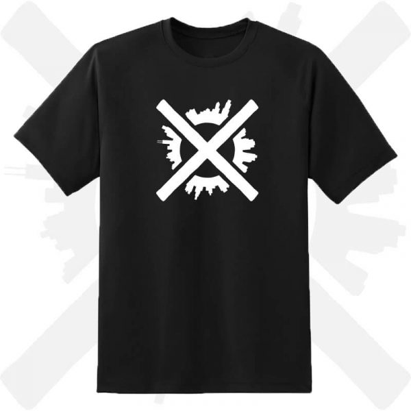 tričko s potickem darktown creepycon creepyshop