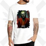 Triko Joker Bílé