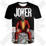 Triko Joker lebky
