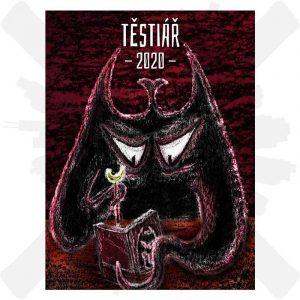 Těstiář 2020 - Diář 13 Děsivých těstovin