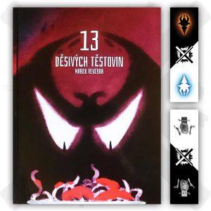 13 děsivých těstovin kniha marek veverka záložka zdarma