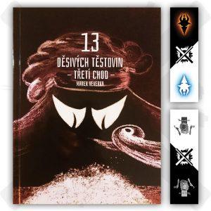 13 děsivých těstovin třetí chod kniha marek veverka záložka zdarma