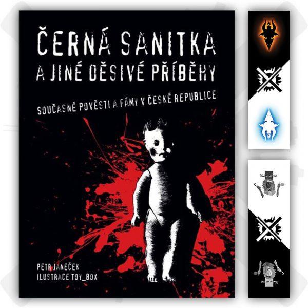 černá sanitka a jiné děsivé příběhy kniha petr janeček záložka zdarma